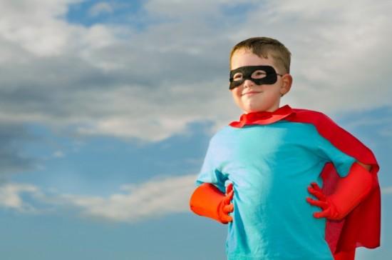 Super Man Little Boy